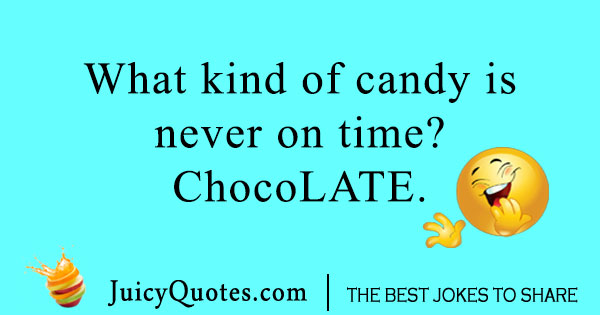 Candy Chocolate Joke