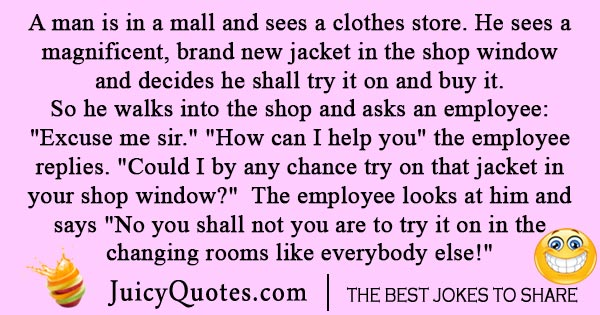 Store Customer Service joke