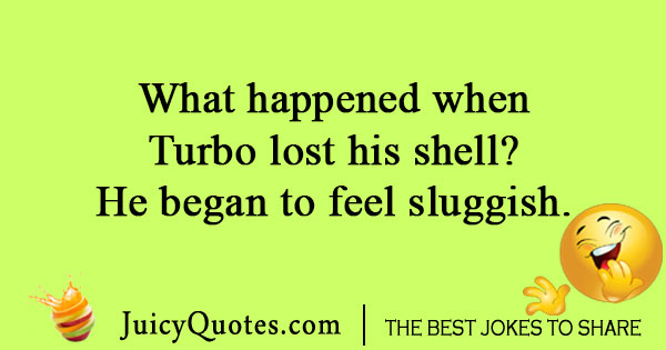 Turbo Snail Joke