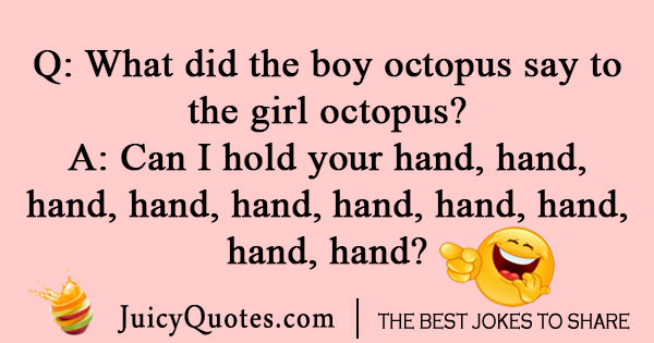 Octopus Valentines Day joke