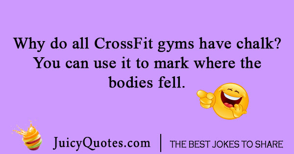 CrossFit gym joke