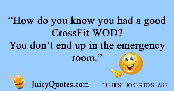 WOD CrossFit Joke