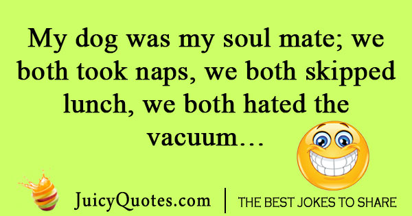 Dog soulmate joke