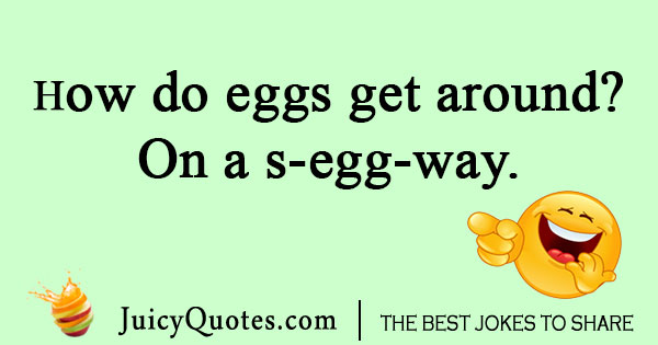 Corny egg joke