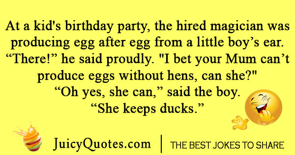 eggs and ducks joke