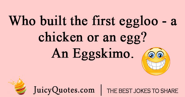 Chicken or the egg joke