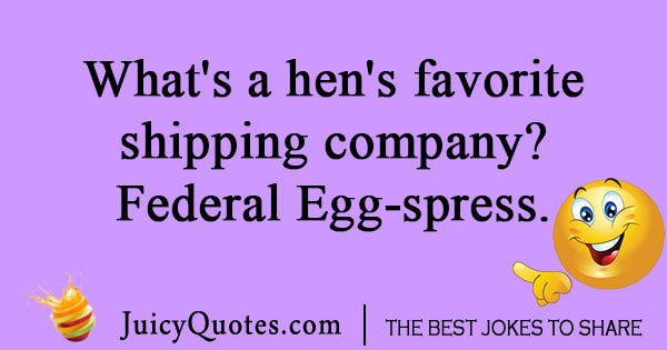 chicken and egg joke