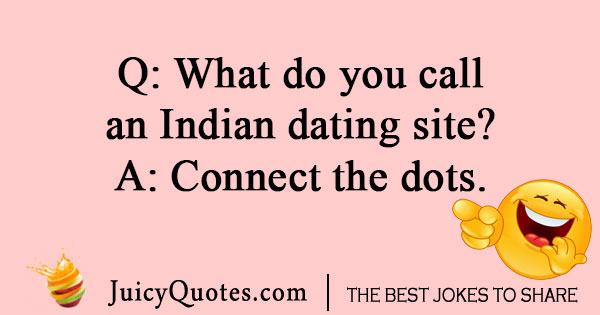 Indian dating site joke