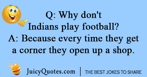 Indian football joke