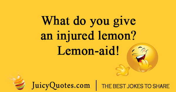Lemon aid joke