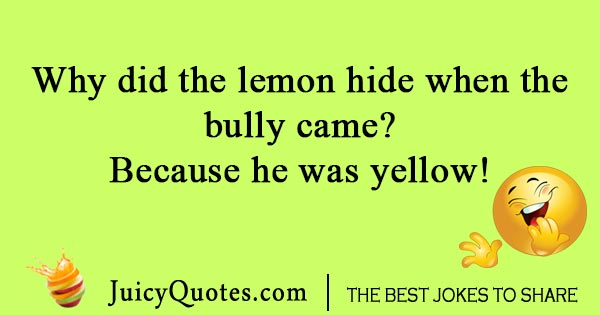 Silly lemon joke