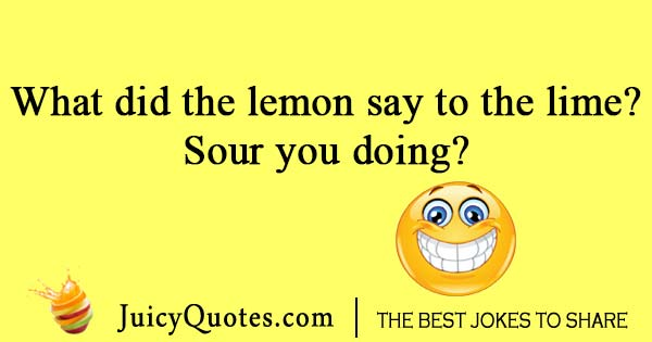 Talking lemon and line joke