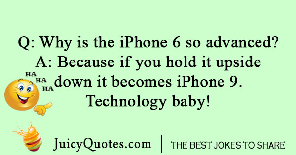 iPhone 9 joke