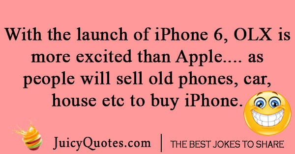 OLX iPhone Joke