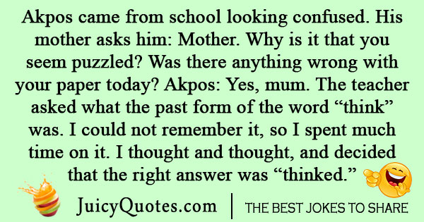 Nigerian School Joke