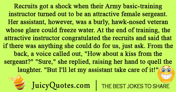 Army Basic Training Joke