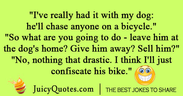 Silly Bike Joke