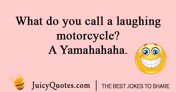 Laughing Motorcycle Joke