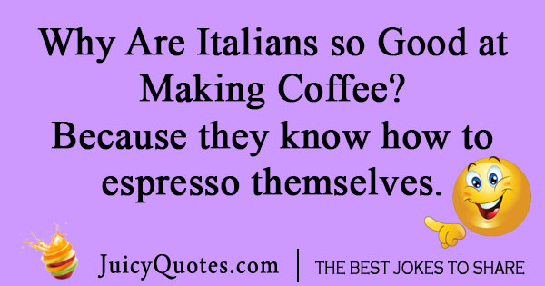 Italian Coffee Joke