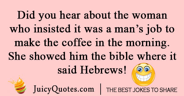 Religious Coffee Joke