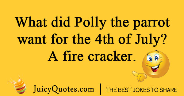 Polly the parrot joke