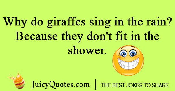 Singing giraffe joke