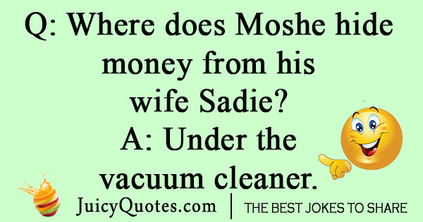 Jewish Money Joke