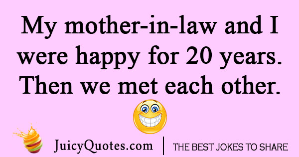 Future Mother In Law Joke