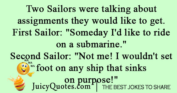Navy Submarine Joke