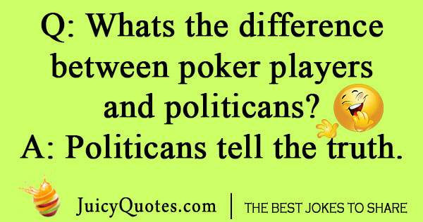 Poker Player Joke
