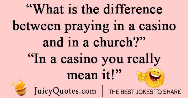 Casino Poker Joke