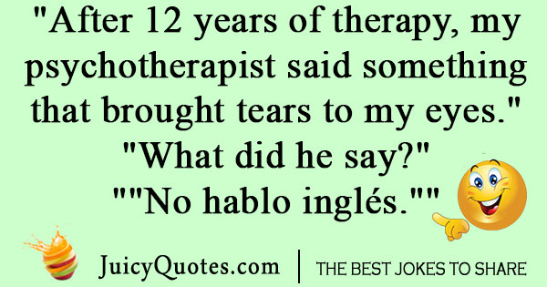 Funniest Psychology Joke