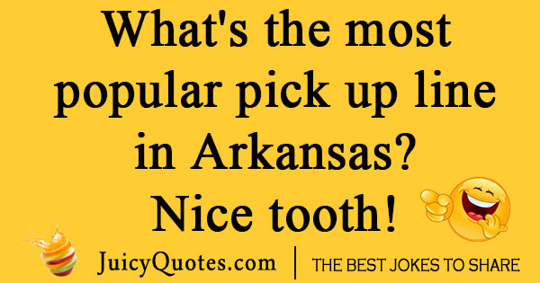 Redneck Pick Up Line Joke