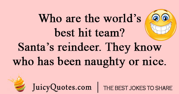 Kids reindeer joke