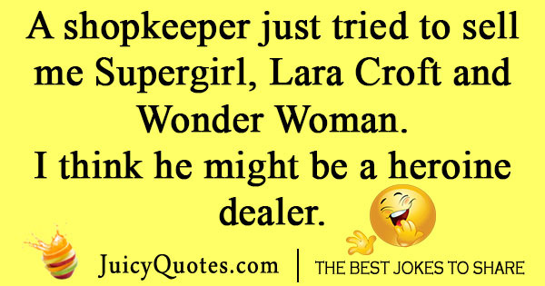 Shopkeeper Joke