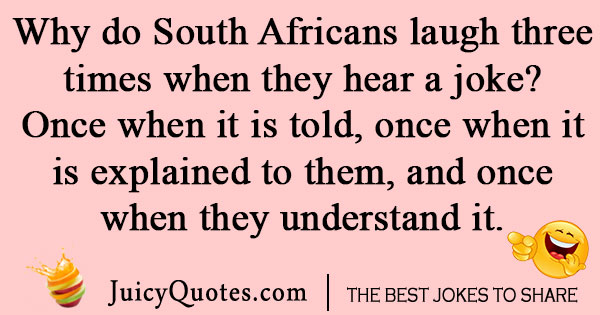 South African Laugh Joke