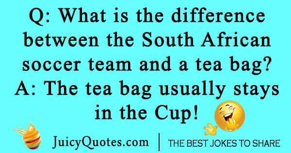 South African Soccer Joke