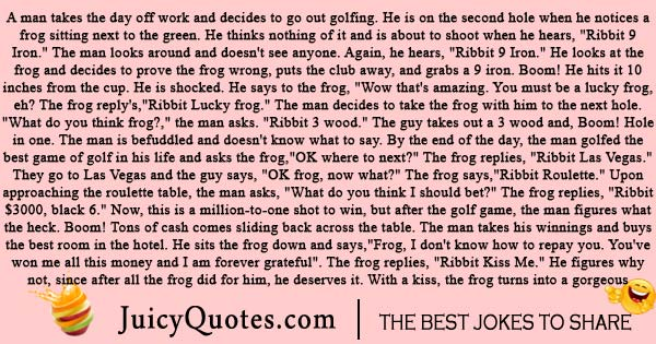 Long Golf Joke
