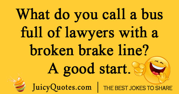 What do you call a lawyer joke