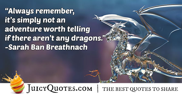 Dragon Adventure Quote
