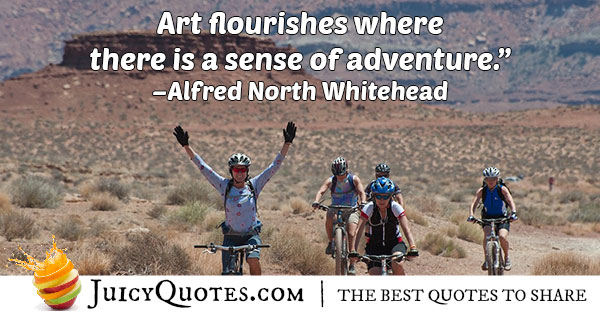 Art Adventure Quote