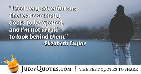 Feel Adventurous Quote