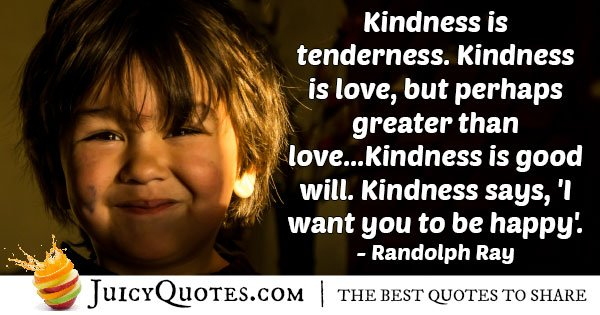 Great Kindness Quote