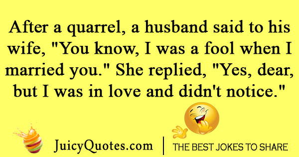 Marriage Love Joke