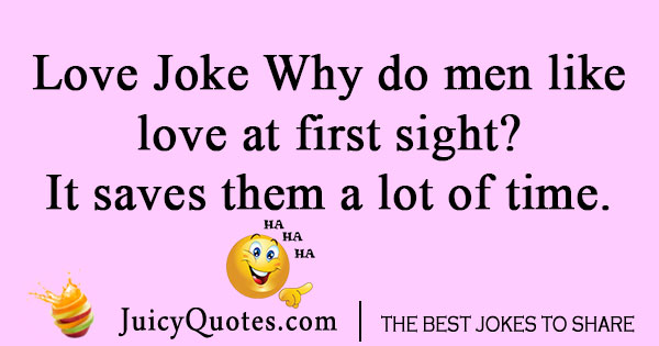 Men Love Joke