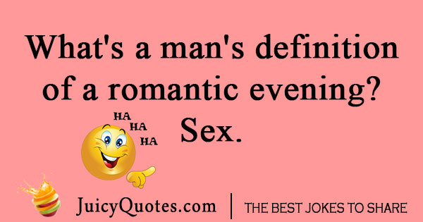 Romantic Love Joke