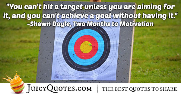 Achieving A Goal Quote
