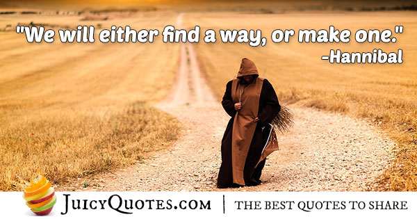 Find Or Make A Way Quote