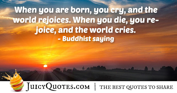 Rejoice and Afterlife Quote