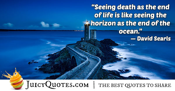Afterlife Horizon Quote